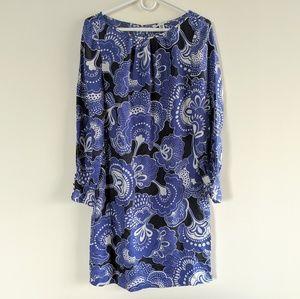 Banana Republic silk floral dress sz 8